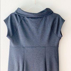 GAP Dresses - Gap Maternity Charcoal Gray Cowl Neck Dress M